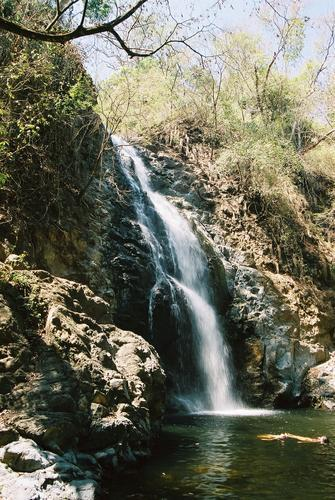 Waterfall in Montezuma